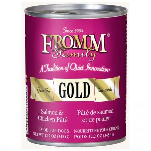 From Family Salmon & Chicken Pâté Dog Food