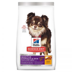 Hill's Science Diet Adult Sensitive Stomach & Skin Best Food for Toy Poodles