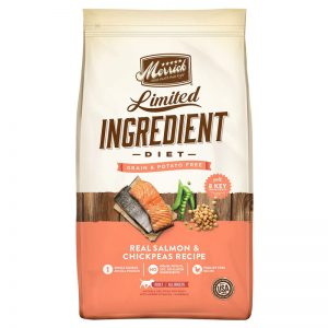 Merrick Limited Ingredient Diet Grain-Free Real Salmon & Chickpeas Recipe Dry Dog Food