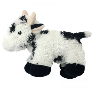 Multipet Look Who's Talking Cow Plush Dog Toy