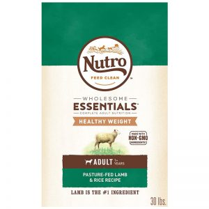 NUTRO Wholesome Essentials Healthy Weight Adult Pasture Fed Lamb & Rice Recipe Dry Dog Food