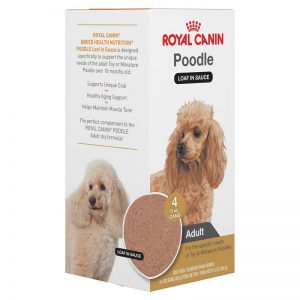 Royal Canin Breed Specific Health Nutrition Poodle Loaf with Sauce